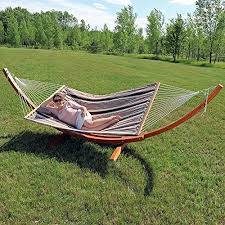 two person hammock with stand. Sunnydaze-Sandy-Beach-Quilted-2-Person-Double-Hammock- Two Person Hammock With Stand
