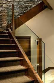 handrail ideas wood stair railing amazing designs outdoor brown for decks