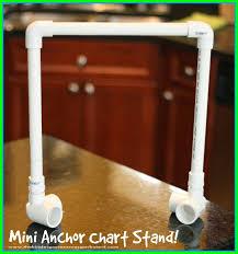 Anchor Chart Stand Mini Diy Anchor Chart Stand The Kindergarten Smorgasboard