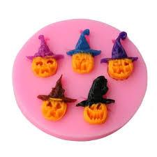 Pumpkin Imp Shape <b>Silicone Cake Mold</b> Soap Fondant Candle ...