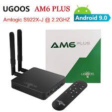 UGOOS AM6 PLUS Amlogic S922X J 4GB DDR4 32GB ROM Smart TV Box 2.4G 5G WiFi  1000M Bluetooth 4K HD Media Player for Android 9.0|Set-top Boxes