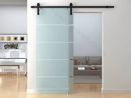 interior sliding barn doors with glass sliding door designs with regard to glass barn door for