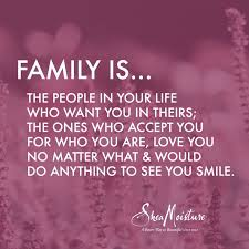 Meaning Of Family Quotes Cool This Is Important To Me Because It Is Your Family You Should Be Able