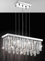 calaonda 7 light rectangular ceiling light pendant eglo lighting