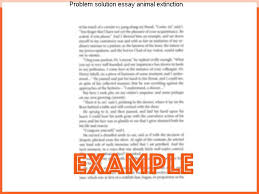 problem solution essay animal extinction research paper writing  problem solution essay animal extinction problem extinction of plant and animal species massive extinctions