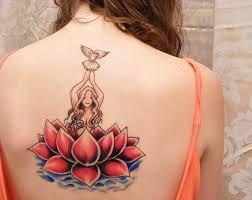 Tetování Lotos Význam Pro Dívky
