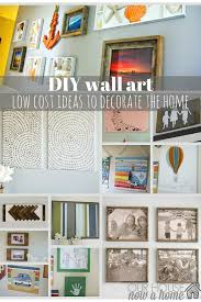 today i am sharing a round up of some of my diy wall art ideas for the home that i have made