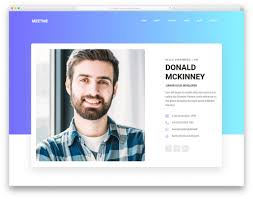 Best Online Resumes Imrex Best Html Resume Templates For Awesome Personal