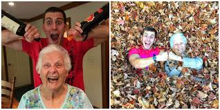 This Guy And His Grandma Are The Funniest Pranksters Youll Ever See