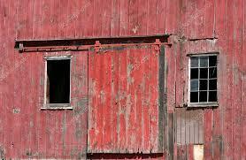 red barn door. A Old Red Barn Door With Windows \u2014 Photo By Njnightsky S