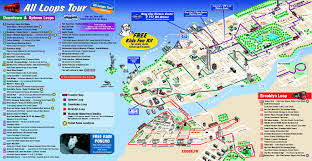 detailed tourist map of new york city new york city detailed