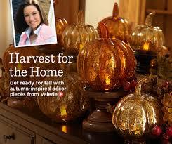valerie parr hill home decorations accents qvc com autumn