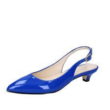 details about women s shoes olga rubini 7 eu 37 pumps blue patent leather by278 37