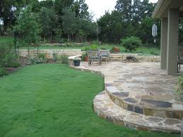 Oklahoma Landscape Design Ideas Ol Yeller Landscaping Constructed This Oklahoma Flagstone