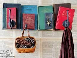 recycled book decor inhabitat green