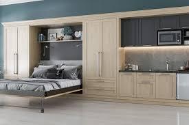wall bedurphy bed denver queen bed desk combo