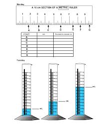 Length & volume. (Worksheet)