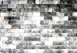 cinder block basement walls painting block wall decorative cinder block wall image of how to lay