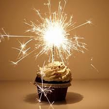 9 Sparkler Candles For Birthday Cupcakes Photo Sparkler Birthday