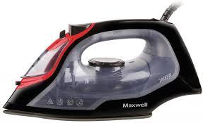 Утюг <b>Maxwell</b> MW-3034(BK) 2400Вт чёрный прозрачный – цены и ...