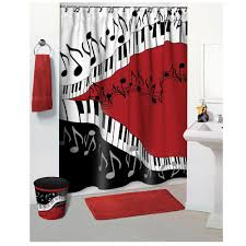 ... Fresh Design Music Note Shower Curtain Luxurious And Splendid Buy Jazzy  Gift Novelty ...