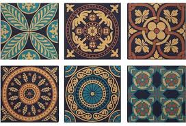 Moroccan Tile Pattern Best Moroccan Tile Pattern Canvas Wall Decor Canvas Wall Art Antique
