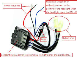 wiring diagram for led daytime running lights wiring whole new products drl led headlights hiway running light drl on wiring diagram for led daytime