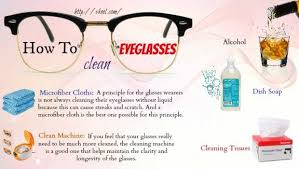 how to wash eyeglasses cloth