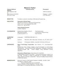 Mechanical Engineering Resume Templates Simple Mechanical Engineer Resume Word Format Download 100 94