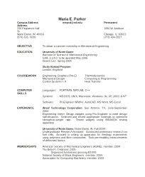 Resume Word Template Free Simple Mechanical Engineer Resume Word Format Download 100 85