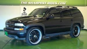 The Sharpest Rides 2002 Chevy Tahoe S5633 - YouTube