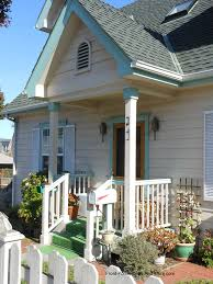 Porch Design Ideas Colorfully Decorated Small Front Porch With Gable Roof Small Porch Design Options