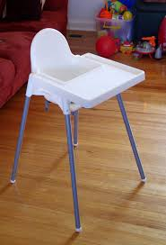 antilop highchair with tray white back to all s