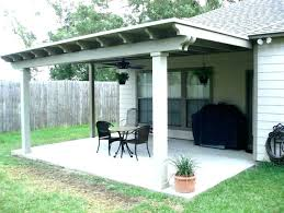 inspirational patio roof design and canvas patio cover kits ideas wood delightful outdoor staggering attached modified