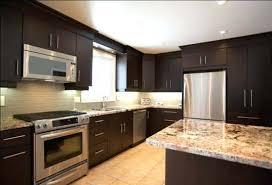 dark stained kitchen cabinets. Dark Stained Kitchen Cabinets Black Stylish Inside Walnut