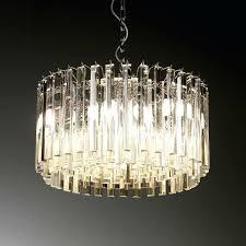 glass drop chandelier crystal