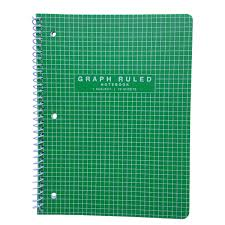 Meijer Poly Quad Graph 1 Subject Notebook Spiral Bound 70 Sheets