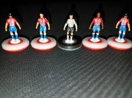 mls loving subbuteo fans combine soccer tabletop gaming stroop also occasionally plays a chivas usa themed set photo courtesy of jeremy stroop