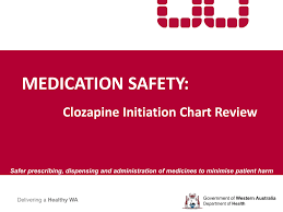 Clozapine Dosage And Titration Chart Development And Review Of A Standardised Clozapine Initiation