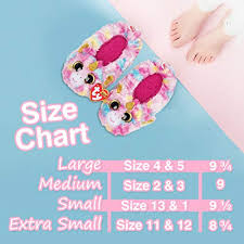 Beanie Boo Slippers Size Chart Ty Beanie Boos Little Girls Slipper Socks Buy Online In
