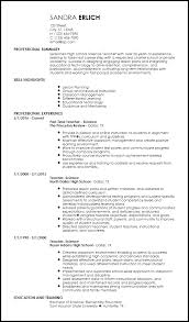 It Teacher Resume Free Creative Teacher Resume Templates Resume Now