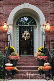 Outside Fall Decor Outdoor Fall Decorations With Farmhouse Style The Country Chic
