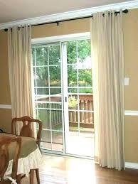 patio door window treatment ideas sliding curtain as stunning design a for glass doors doorwall treatments