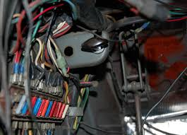 bus fuse box wiring in our garage fixing decades of automotive wiring hacks original lucas fuse panel it s seen