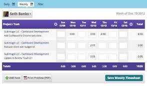Employee Timesheet Software - Cashboard