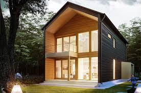 Honka Vista is a stunning contemporary log home design that combines warm  wooden surfaces and urban details. View model