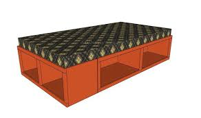 king storage bed plans. Bed Storage Plans Free King Size I
