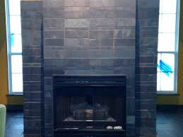slate fireplace surround uk chic black tile tiles best design pictures wall