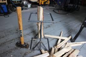 how to make a log splitter kindling splitter