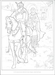 king arthur para colorear legend of king and his knights of the round table coloring book